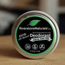 Activated Charcoal - Baking Soda Free Deodorant