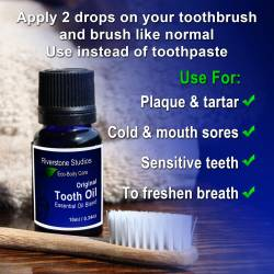 Tooth Oil - Toothpaste Alternative