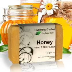 Soap Bar - Honey Hand &...