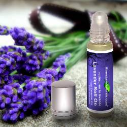 Lavender pure essential oil roll on
